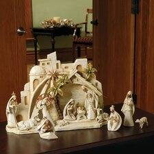 13 Piece Nativity Figurine Set