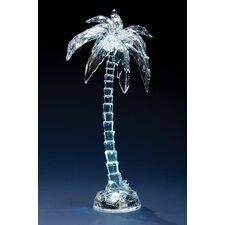Lighted Palm Tree Figure