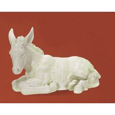 Donkey Nativity Figurine