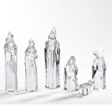 6 Piece Fitted Nativity Figurine Set