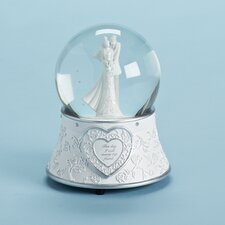 Wedding Glitterdome Figurine