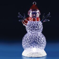 LED Icy Snowman Figurine