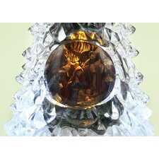 LED Nativity Tree Figurine
