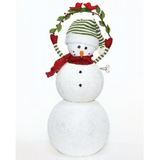 Musical Large Snowman with Key Figurine