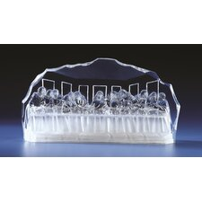 LED Acrylic Last Supper Figurine