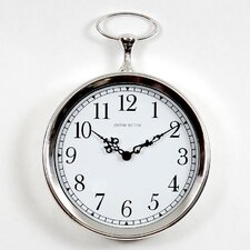 "<strong>Ashton Sutton</strong> 10"" Pocket Watch Wall Clock"