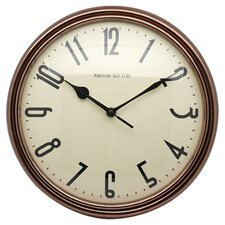 "Retrospective 12"" Wall Clock"