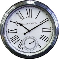 "<strong>Ashton Sutton</strong> Elgin Classic 18"" Wall Clock"