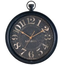 "Classic Home 20"" Pocket Watch Shapped Wall Clock"