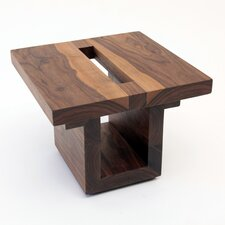 <strong>ARTLESS</strong> SQ18 Walnut End Table