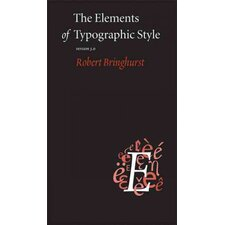 The Elements Of Typographic Style Version 3.0