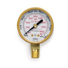 Oxygen High Pressure Gauge Regulator