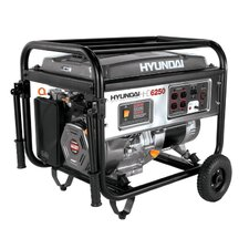 <strong>Hyundai Power Equipment</strong> 6,250 Watt Portable Heavy Duty Power Generator