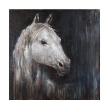 Mystical Horse Painting Print on Canvas