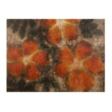 Muted Floral Painting Print on Canvas