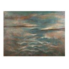 Ocean Horizon Painting Print on Canvas
