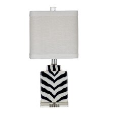 """Hanna 20"""" H Table Lamp with Drum Shade"""