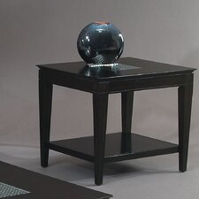 <strong>Bassett Mirror</strong> Mocchiato Rectangle End Table