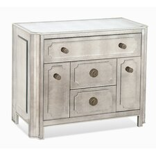 <strong>Bassett Mirror</strong> Regency 4 Drawer Chairside Chest