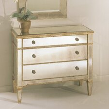<strong>Bassett Mirror</strong> Borghese Mirrored Hall Chest