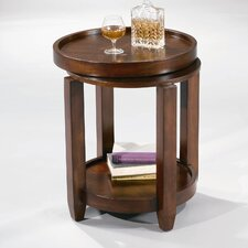 <strong>Bassett Mirror</strong> Modular Mates Tray Top End Table