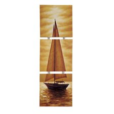 Triple Sail Original Painting on Canvas