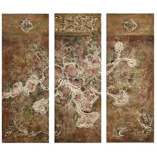 Weathered Bouquet Canvas (Set of 3)
