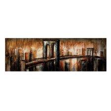 The Bridge Original Painting on Canvas