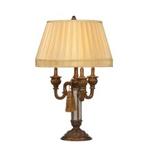 """Empress 35"""" H Table Lamp with Empire Shade"""
