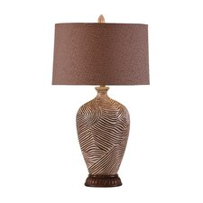 "Kanobi 33"" H Table Lamp with Drum Shade"