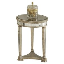 Borghese Mirrored Round End