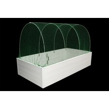 "Multi Season System 3' 7"" H x 4' W x 2' D Quad Deep Mini Greenhouse"
