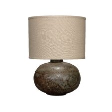 """Caisson 23"""" H Table Lamp with Drum Shade"""