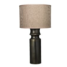 """Tower 31.5"""" H Table Lamp with Drum Shade"""