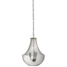 Seeded Glass Nimbus 1 Light Mini Chandelier
