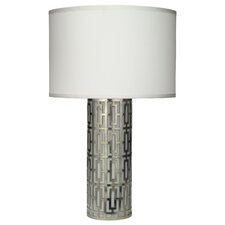 "Cypress 25.25"" H Table Lamp with Drum Shade"
