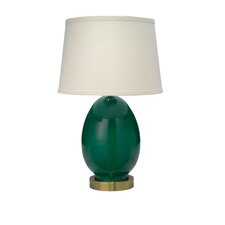 """Small Egg 20"""" H Table Lamp"""