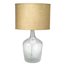 "Medium Plum Jar 27.25"" H Table Lamp with Drum Shade"