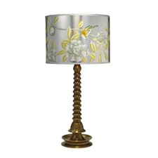 """Ghee 29"""" H Table Lamp with Drum Shade"""