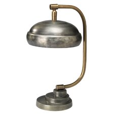 "Steam Punk 14"" H Table Lamp with Bowl Shade"