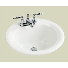 <strong>St Thomas Creations</strong> Marathon Round Bathroom Sink