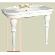 Parisian Console Single Bowl (leg only)