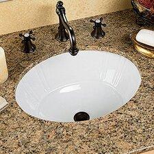 Antigua Petite Undermount Bathroom Sink