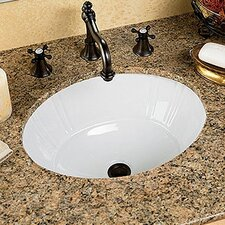 Antigua Petite Undermount Bathroom Sink