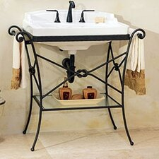 Granada Console Table with Neo - Venetian Petite Bathroom Sink