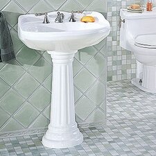 Arlington Petite Pedestal Bathroom Sink