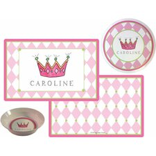 The Kids Tabletop Little Princess Place Setting (Set of 3)