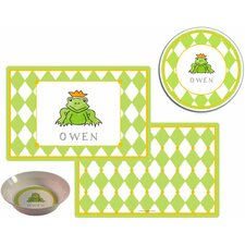 The Kids Tabletop Frog Prince Place Setting (Set of 3)