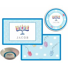 The Kids Tabletop Hanukkah Place Setting (Set of 3)