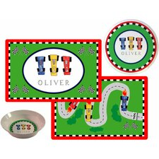 The Kids Tabletop On Your Mark Place Setting (Set of 3)
